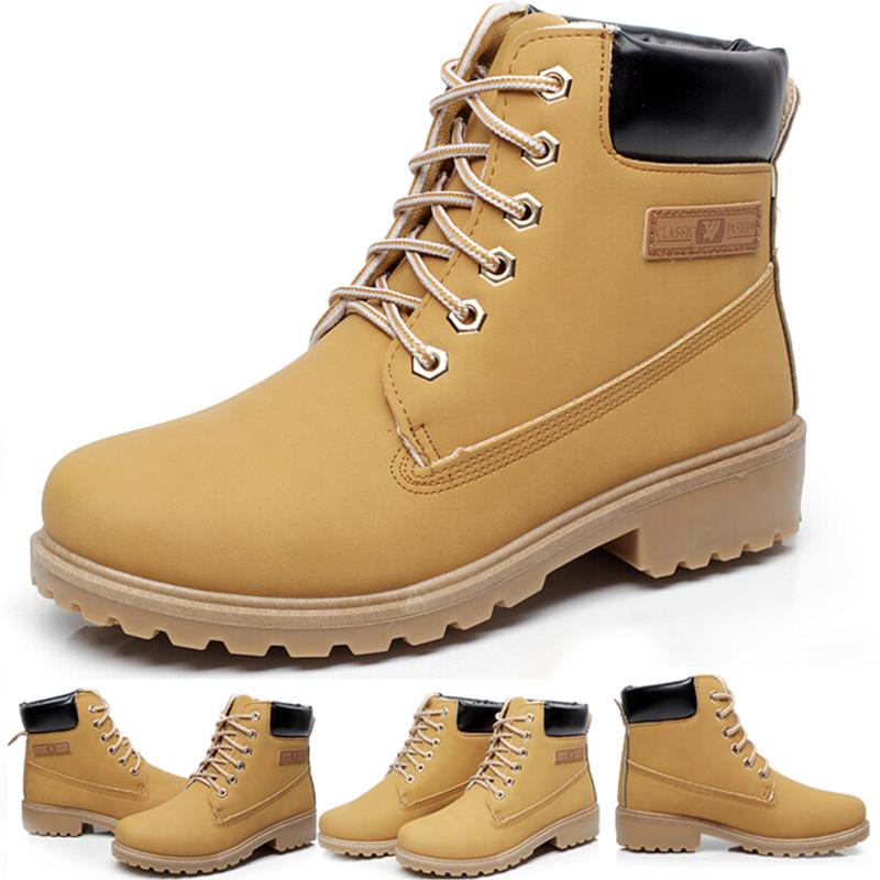 Super Warm Men's Winter Leather Boot Men Outdoor