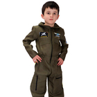 PGCC2374 SEXY Top Gun Flight Suit Dress Outfit Halloween Party Costume
