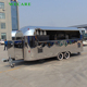 Fashion carts trolleys mobile ice cream trailers