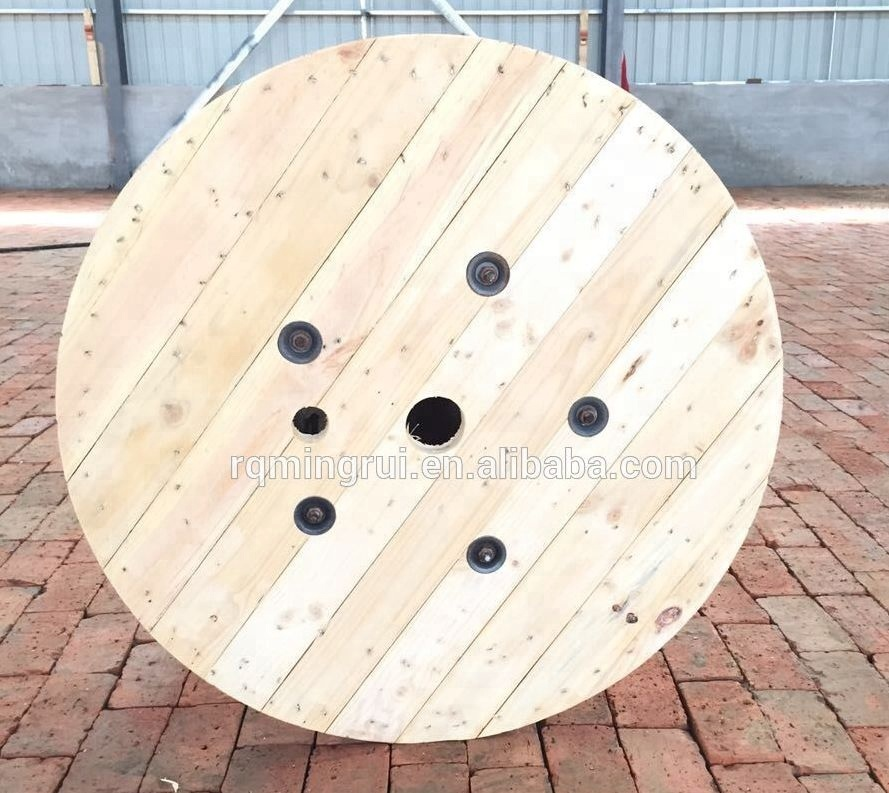 Empty Wood Spools Cable Reel Weight