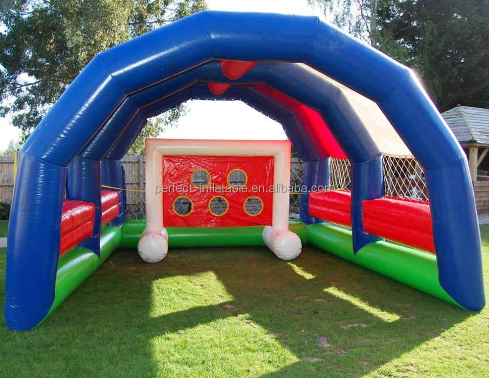 Party game football toss game, inflatable football aim target, shoot to the hole and get the prize