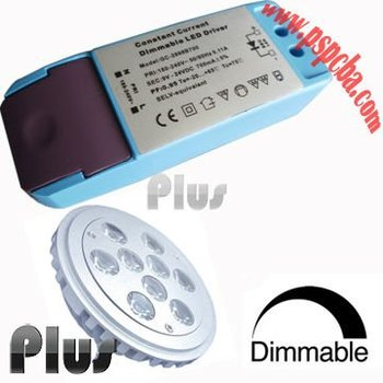 Dimmable Led Driver For 9w High Power Led Ceiling Light (ce,Rohs ...