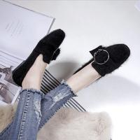 LM6323Q woman big size casual shoes flat pointed dress shoes single shoes