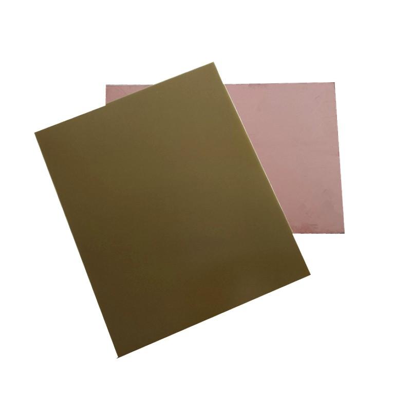Copper clad printed circuit board laminate sheet fr cem