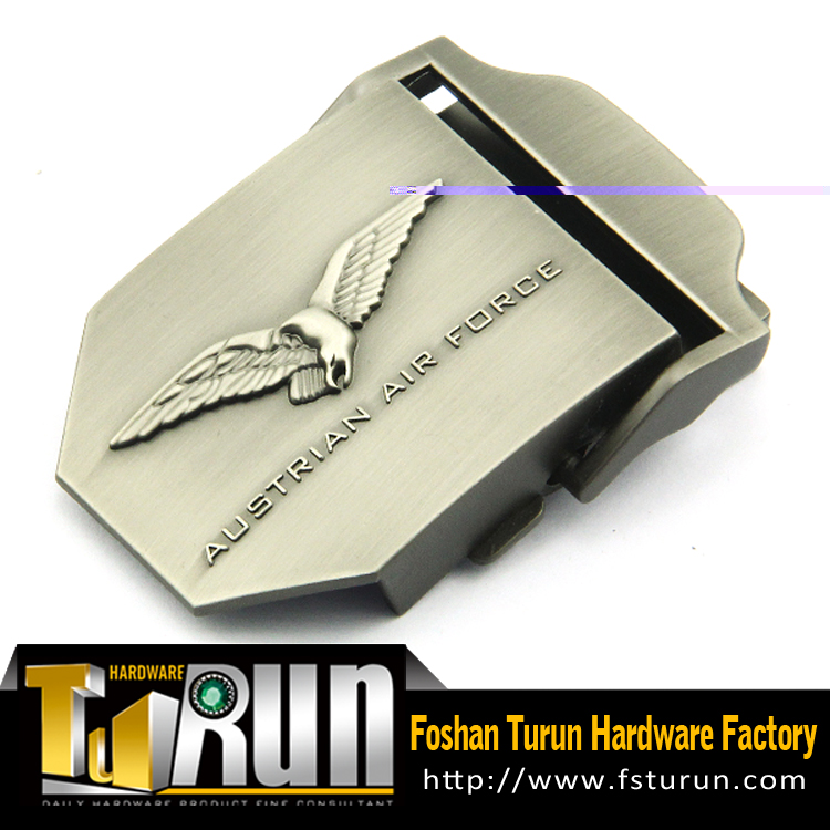 Fashion quick release military belt buckles with custom logo