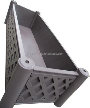 Direct Factory Price Vertical Garden Planter Rectangle Plastic