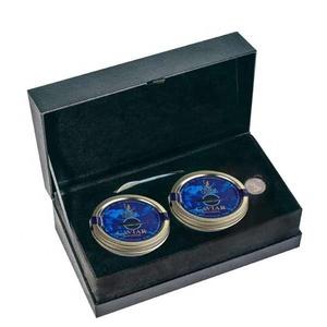 Xunlong caviar company sell canned fish roe Russian Osetra Karat Caviar  sturgeon hybrids caviar