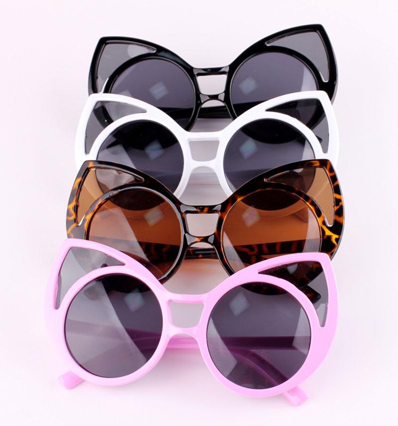 5827a4fd34d3b Get Quotations · Fashion Vintage Sunglasses Retro Cat Eye Round Sunglasses  for Women Sun Glasses Eyewear Eyeglasses Cat Eye