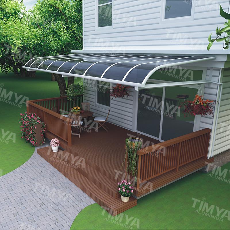 selbstorganisation aluminium rahmen stehen balkon markise baldachin mit starken kapazit t gegen. Black Bedroom Furniture Sets. Home Design Ideas
