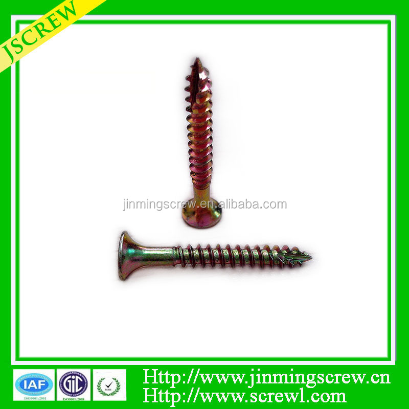 zinc plated slotted recess for building Drywall screw C1022A bugle head self tapping screw m8