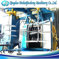 Q37 hook wheel shot blasting machine with BV certificate
