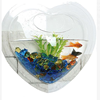 Heart Mini shaped Wall Mount best acrylic fish tank