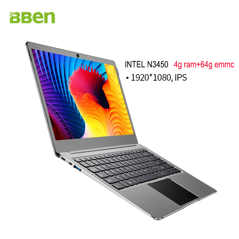 Hot selling 14 inch Intel celeron N3450 netbook mini laptop computer