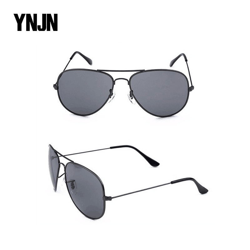 Wholesale online shopping taizhou YNJN aviator polarized man promotional copper glasses <strong>sun</strong>
