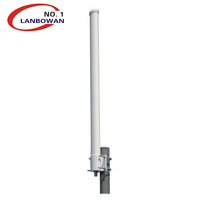Manufacturer Lanbowan 2.4/5Ghz 14dbi Indoor wifi Omni Antenna for cambium networks for TP link