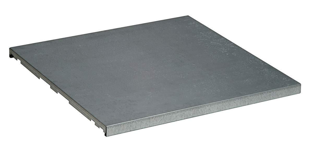 """Justrite 30 1/4"""" X 30"""" SpillSlope Galvanized Steel Cabinet Shelf (For Sure-Grip EX 60 Gallon 2 Door Safety Cabinets)"""