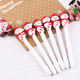 Christmas Decoration Gift Ball Point Pen Santa Claus Ballpen