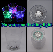Colorful 2016 new products LED Flashing Barware Plastic Shot LED Glass, Promotional light up Liquid