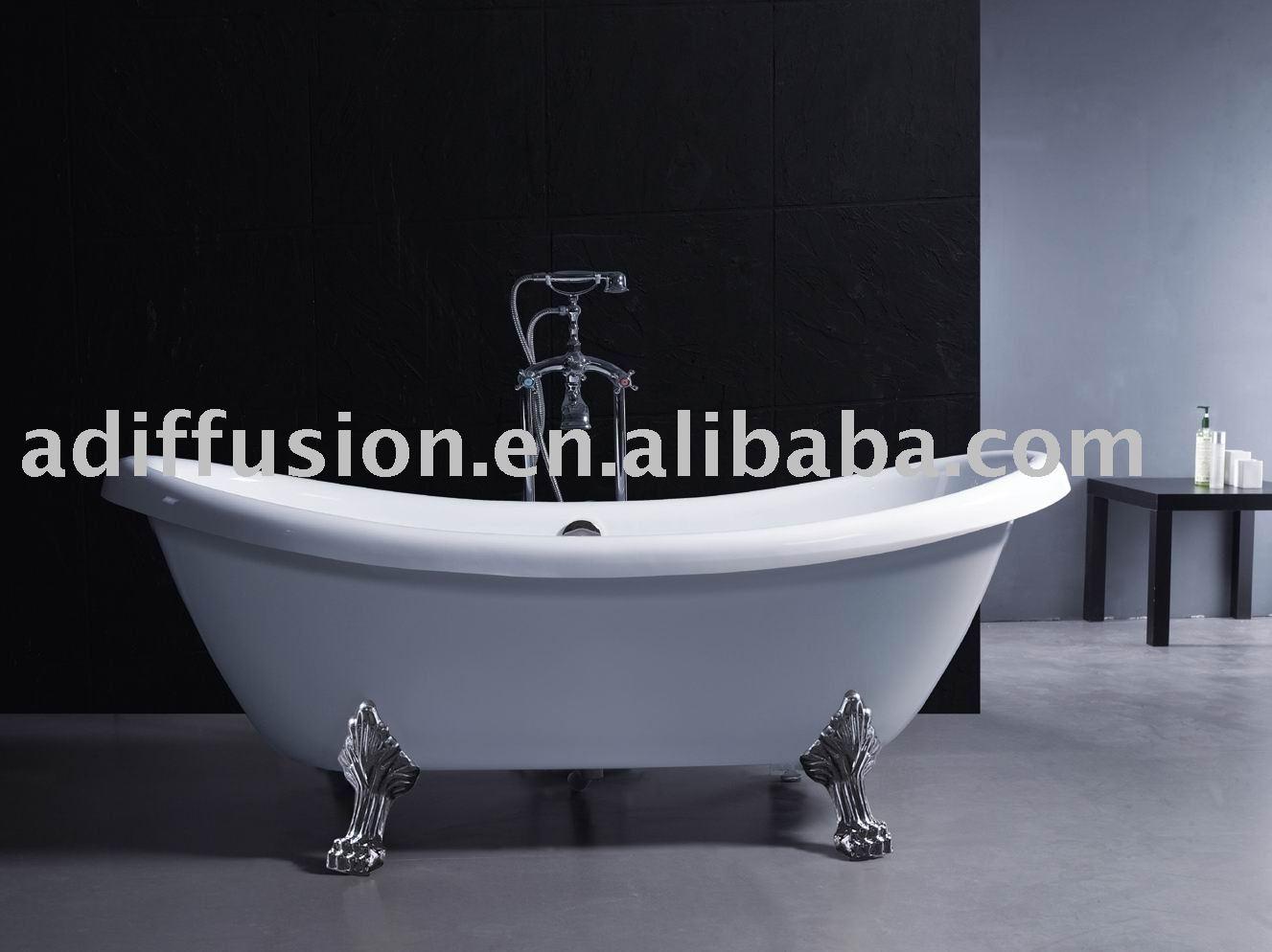 Large Plastic Bath Tub With Legs 807 - Buy Bathtub With Legs,Claw ...