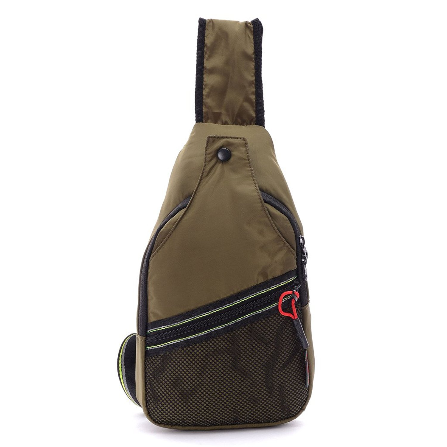 db0fb88bf4 Get Quotations · Packable Nylon Sling Bag Small Shoulder Backpack Cross  Body Backpack for Men Women