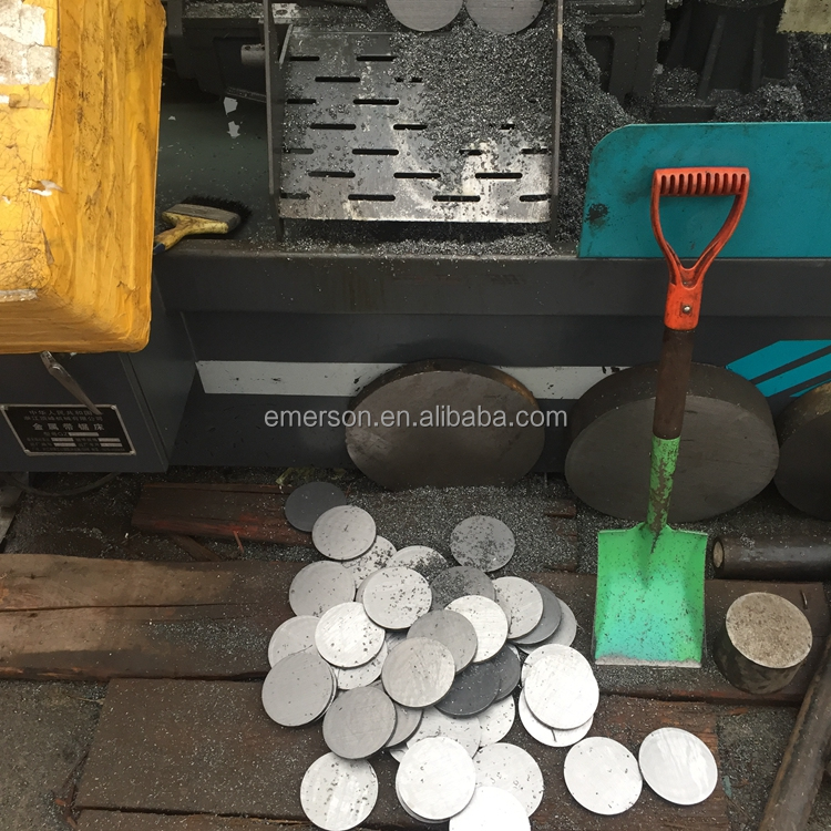 SAE 1020 SAE1045 metal 150mm diameter round shape iron material round iron sheet processing