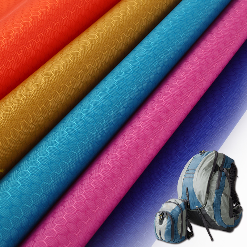 Enhanced nylon ripstop coated with silicon for bags