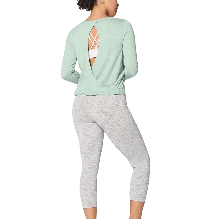 OEM Low Price Women long sleeves <strong>sports</strong> top