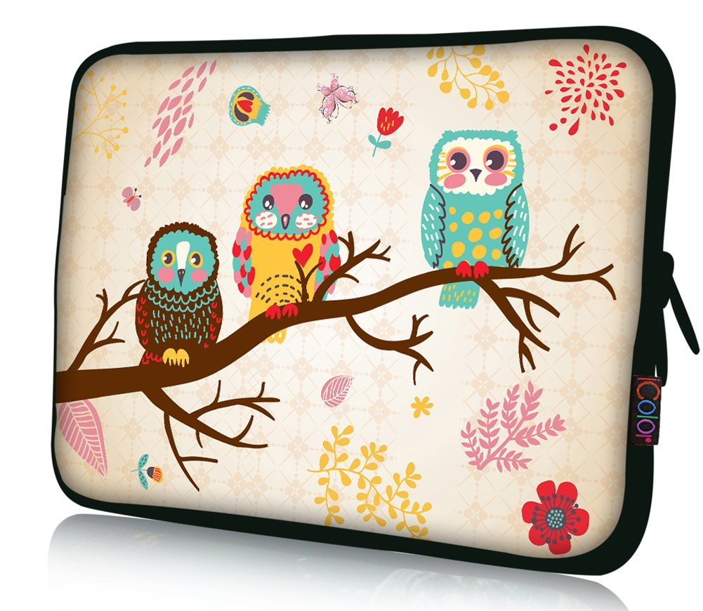 "NEW Three Owl 11.6"" 12"" 12.1"" 12.2 inch Neoprene soft Notebook Laptop Case Sleeve bag for TOSHIBA U920T/ DELL Latitude E6230 XT2 XPS Duo/ Samsung Google 11.6"" Chromebook / Samsung 350U 400B /HP 4230S 2560P/Thinkpad X230 X220/intel Letexo / ASUS B23 /Sony VAIO VPC FBAps12-002"