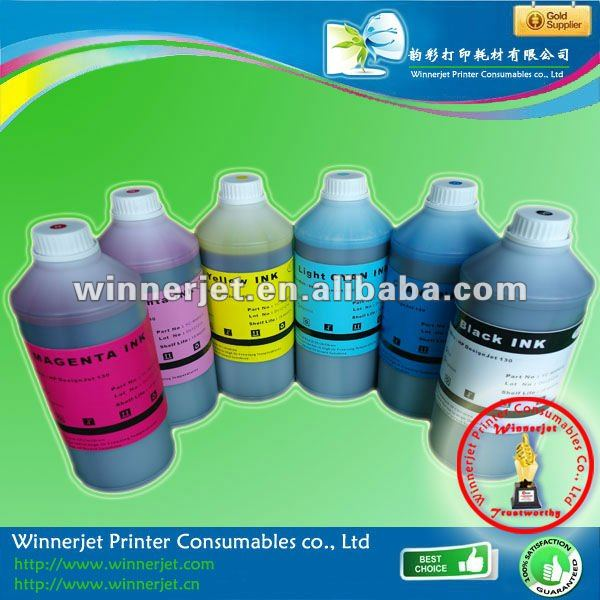 Smoothly Printing Aqueous Dye Ink For Hp Designjet 130