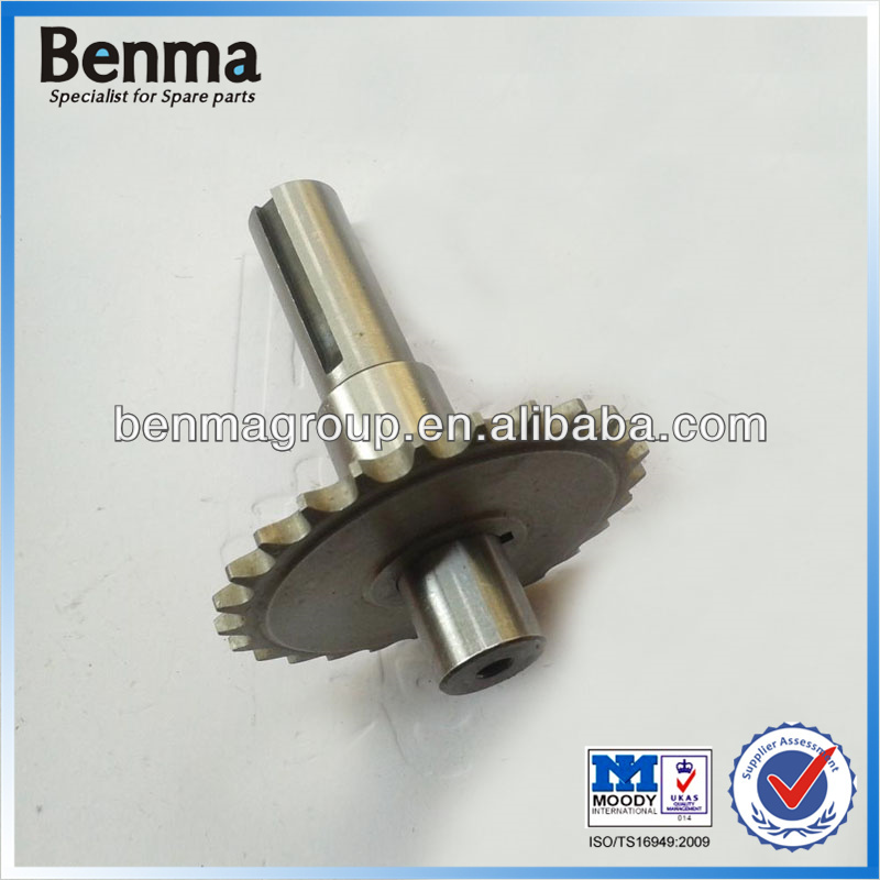 Go Kart spare parts Slow down output shaft for 1/2 reduction clutch GX200 GX270 GX420 go kart parts