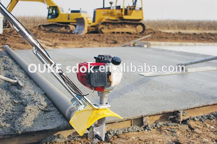 concrete electric vibrating concrete truss screed