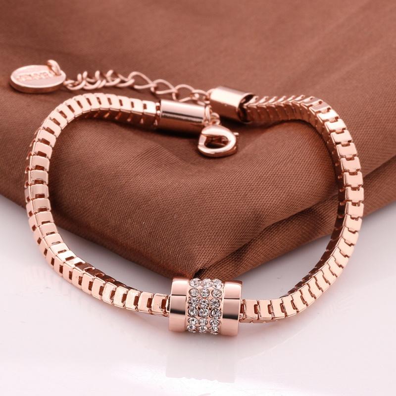 Brand-Name-Jewelry-New-Fashion-Bracelets-Top-Quality-18K
