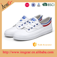european style leather upper stitched thick sole leather shoes sport casual shoes