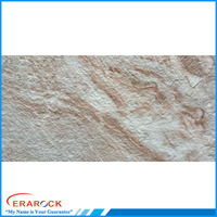 Rustic Glazed New Sand Rock Ceramic Exterior Wall Tile 300x600mm