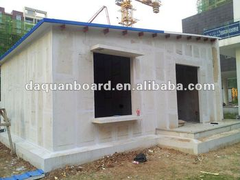 Spray Foam Insulation And Fireproof Material   Styrofoam Exterior Wall  Panel For Prefab Houses