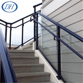 Outdoor Stair Railing Banister, Handrails For Outdoor Steps, Exterior  Handrail Lowes
