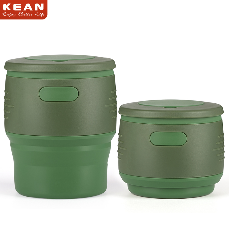 350ml BPA free Collapsable Silicone Coffee Cup