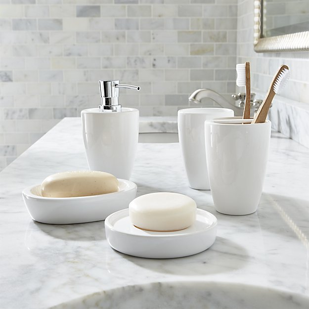Hotel Ceramic Bathroom Set Price Stoneware Accessories Porcelain Soap