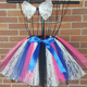 Newest Baby Girl Skirt Kids Rainbow Tutu Skirts Hot Selling Pettiskirt Tutu For customize Party Wedding