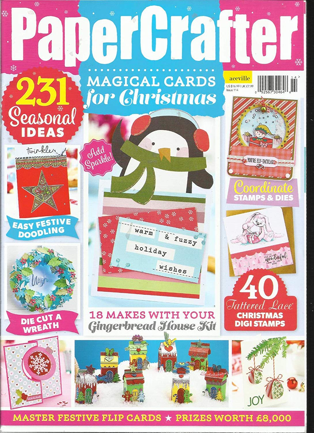 PAPER CRAFTER ISSUE, 2017# 114 FREE GIFTS OR CARD KIT ARE NOT INCLUDED.
