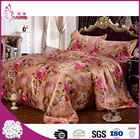 Top quality wholesale 18mm luxury 4pcs silk wedding bedding sets