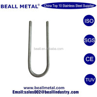U Bolt with Washer and Nut (Fastener Wholesale; Provide Grade:2 4.8 5 8.8 10.9 12.9 )