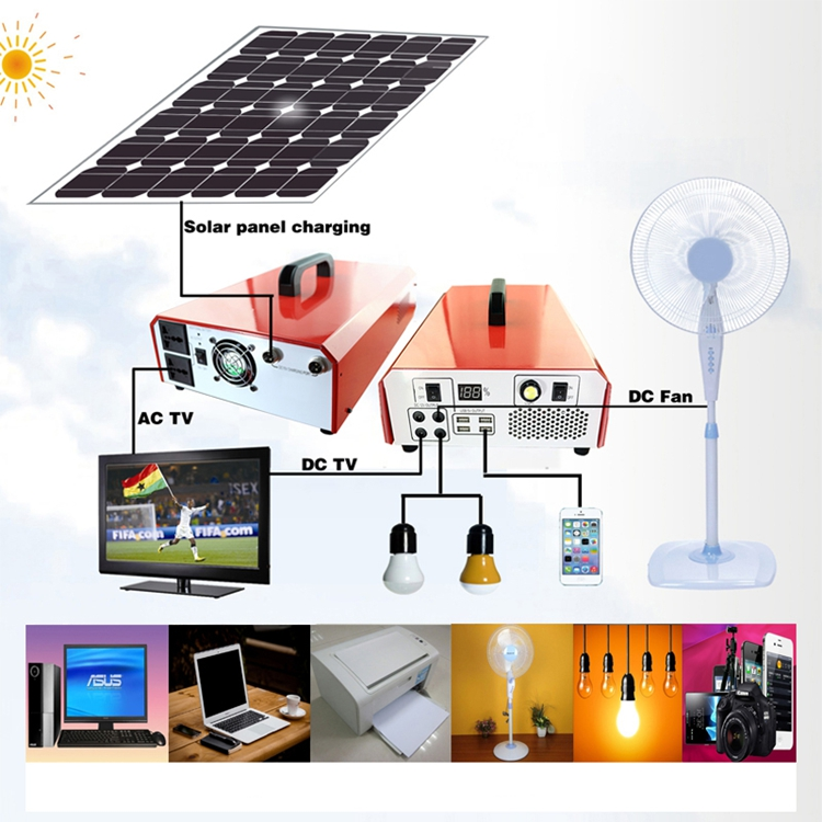 Promotional solar power system inbuilt/with inverter Best price high quality