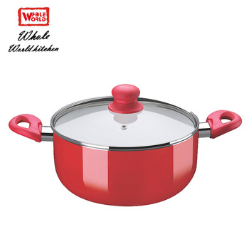 Modeling beautiful food warmer hot aluminum pot kitchenware
