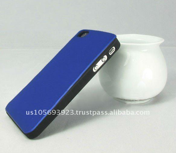 Leather sticker mobile phone case for Iphone 4g/4s