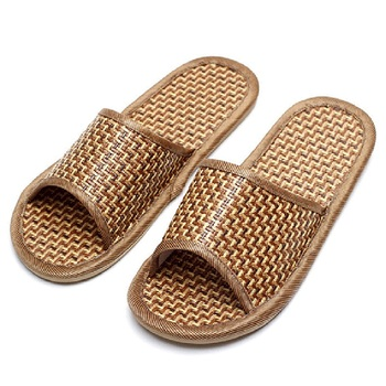 4fbfbec27 OXGIFT China Wholesale Factory Price Amazon indoor bamboo flip flops  slippers shoes