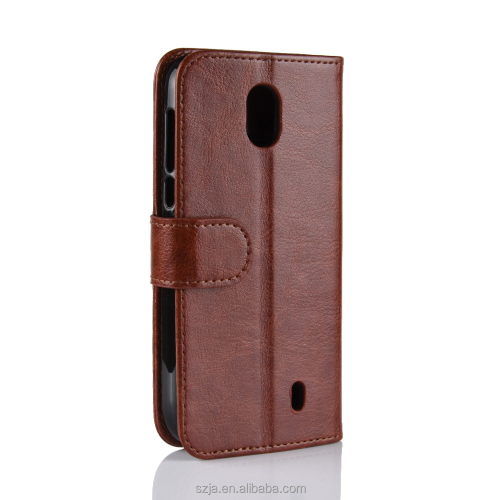 Wholesale Mobile Phone Case For nokia 1 / 2 Cover Flip PU Leather Phone Case Made In China