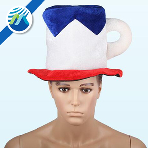 Novelty Felt Football Hat Plush Beer Cup Hat Party Top Hat For Germany Oktoberfest