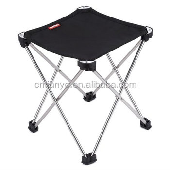 Swell 2018 High Quality Aluminum Folding Stool Portable Camping Ibusinesslaw Wood Chair Design Ideas Ibusinesslaworg