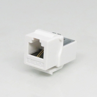 RJ11 CAT3 Telephone Keystone Jack 6P2C Female Connector